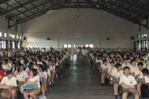 Para siswa baru SMA KOSAYU Kelas X