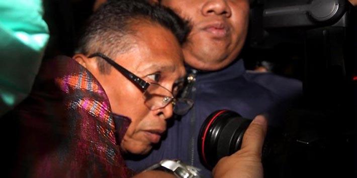 Wakil Ketua Pengadilan Negeri, Bandung, saat ditangkap KPK (nasional.kompas.com