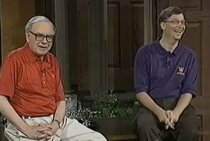 Warren Buffett dan Bill Gates, dua orang introver yang luar biasa (http://www.youtube.com/user/IdiotTVShow)