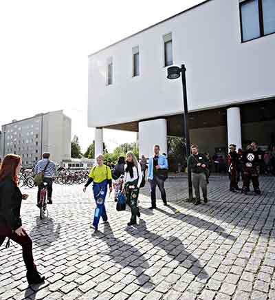 Salah satu bagian dari kampus University of Jyvaskyla di Finlandia (foto: University of Jyvaskyla)