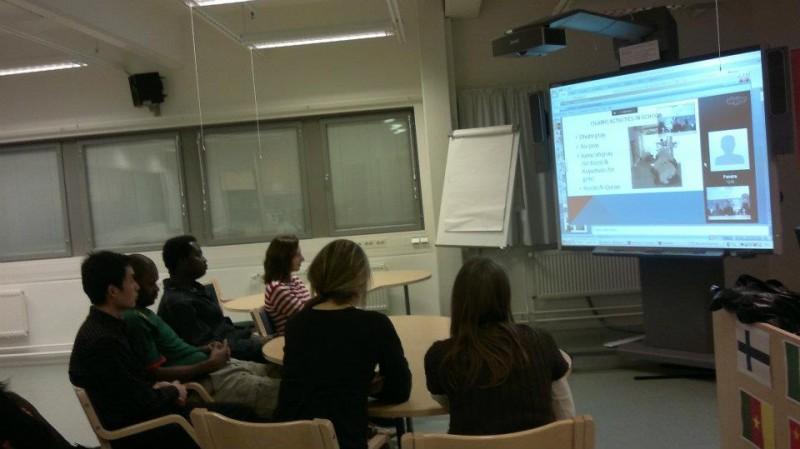 Suasana kuliah di kelas (foto University of Jyvaskyla)