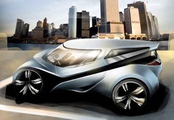 Salah satu produk Local Motors yang lain, Green Apple, karya Julien Sarremejean (http://impressivemagazine.com)