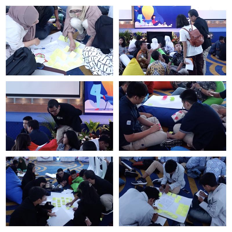 Suasana Workshop Kewirausahaan di Sektor Kelautan dan Perikanan yang diselenggarakan JURUSANKU bersama BRSDM KP, Sabtu 12 Oktober 2019 lalu (foto: Jurusanku.com)